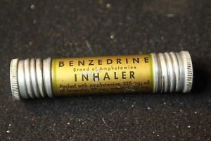 "The original Amphetamine ""product"", an asthma inhaler which was not as effective as competing brands."